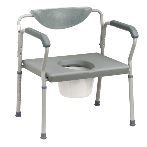 Drive Bariatric Assembled Commode