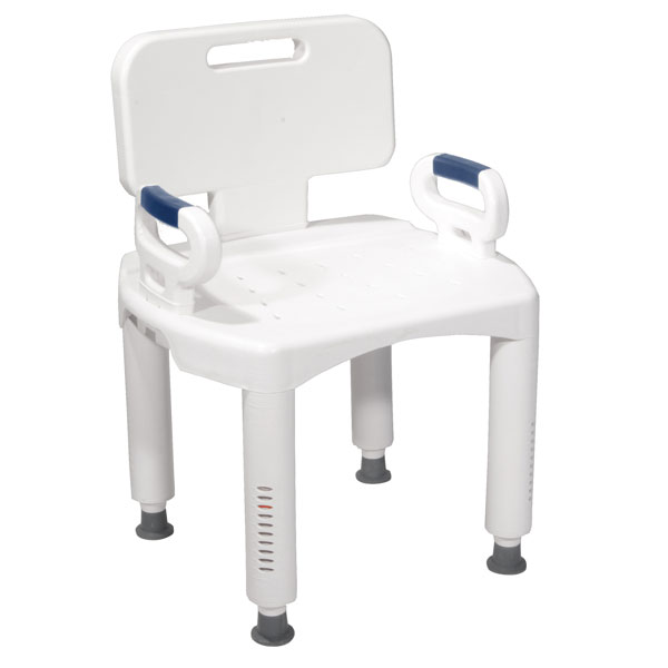 Drive Bath Bench with Back and Arms