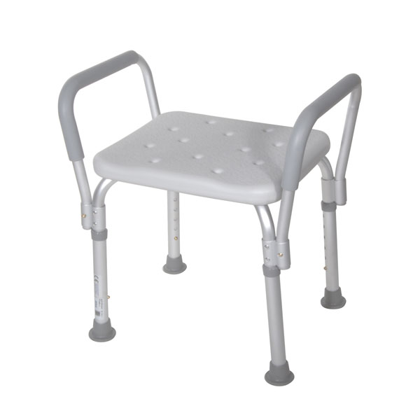 Drive Bath Bench with Padded Arms- Without Backrest