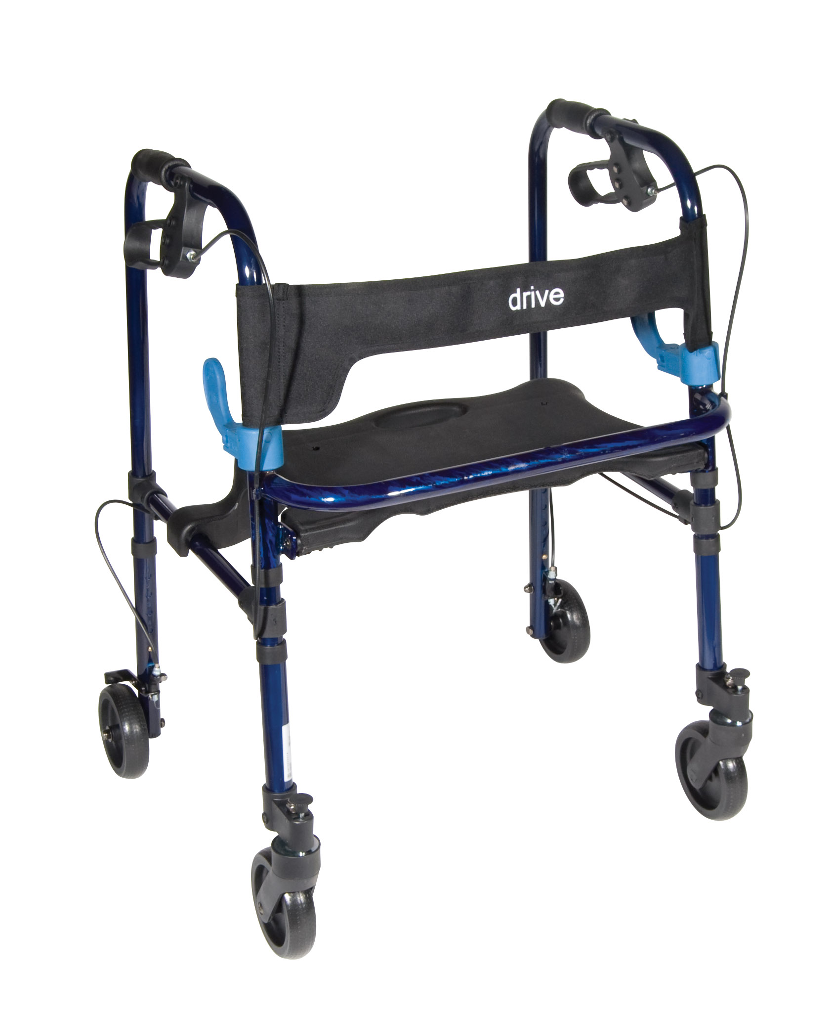 Drive Clever Lite Rollator Walker with 5