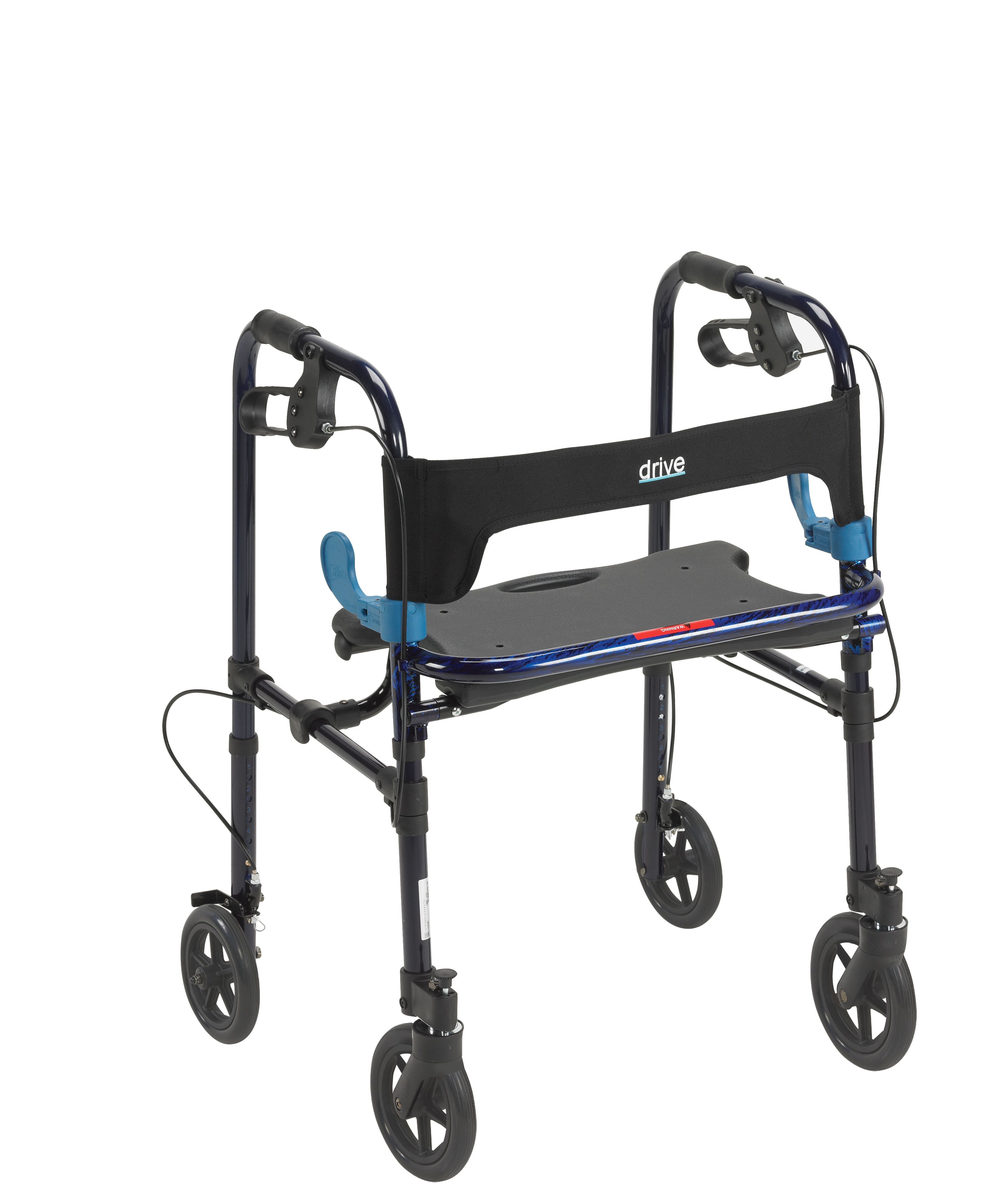 Drive Clever Lite Rollator Walker with 8