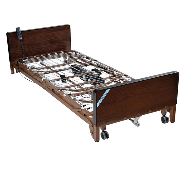 Drive Delta Ultra Light Full Electric Low Bed- Includes Half Rails