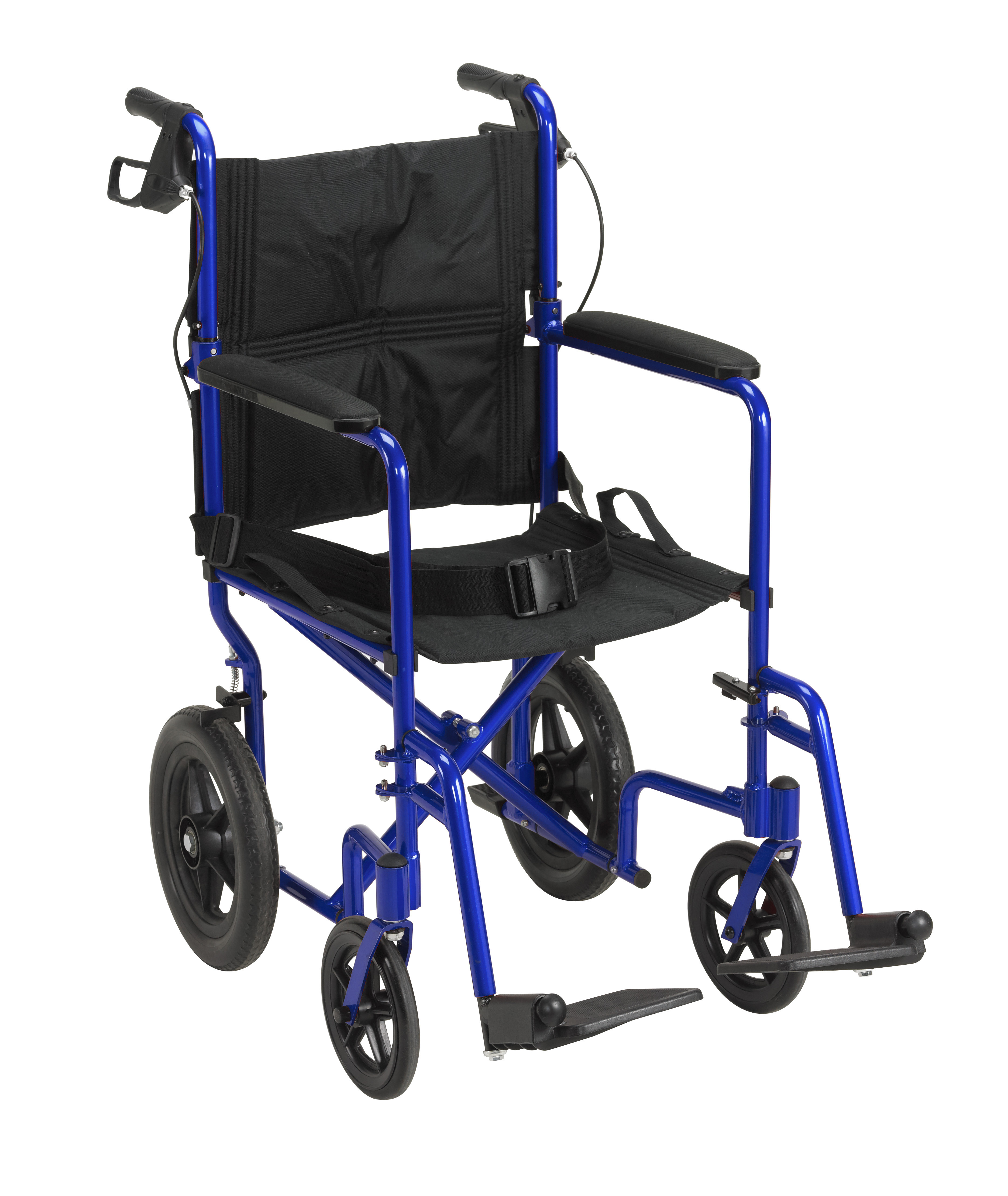 Drive Expedition Transport Wheelchair with Hand Brakes