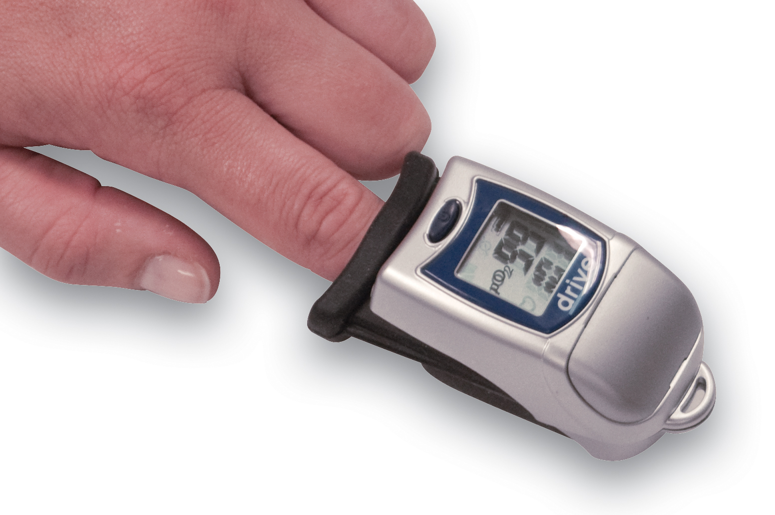 Drive Finger Tip Pulse Oximeter with Large LCD Display
