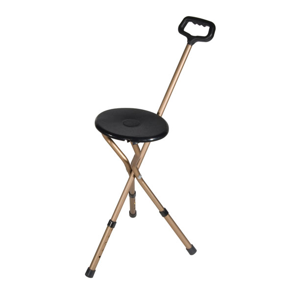 Drive Folding Lightweight Adjustable Height Cane Seat