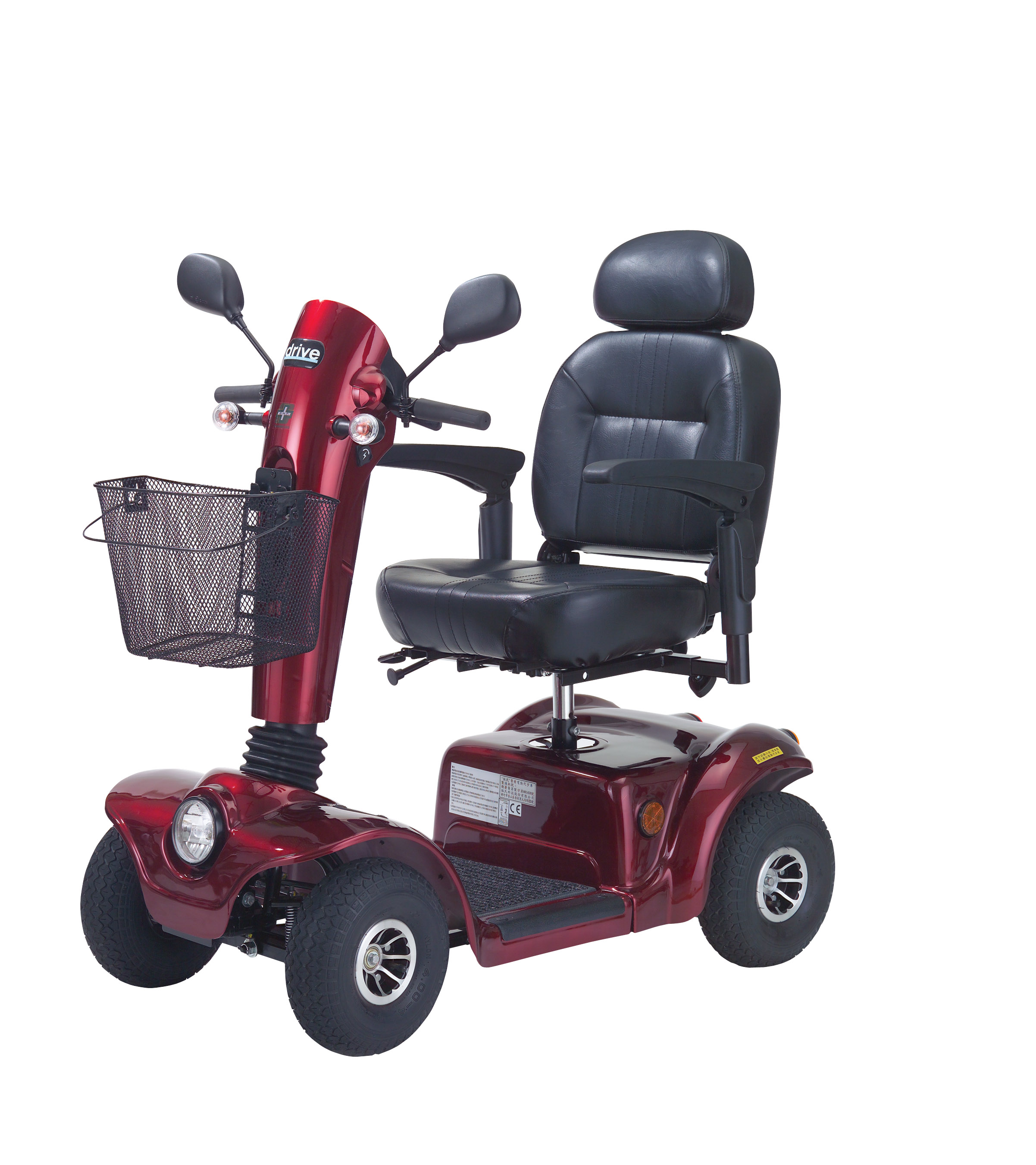 Drive Gladiator GT Heavy Duty Scooter with Various Seating Options