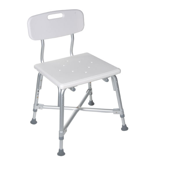 Drive Heavy Duty Bariatric Bath Bench with Back