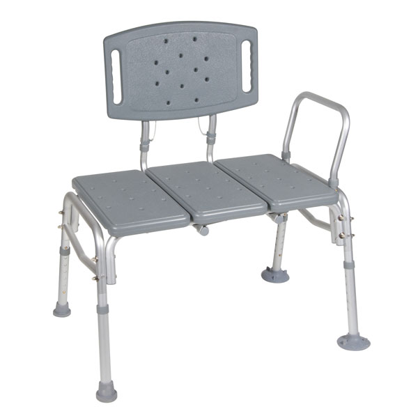 Drive Heavy Duty Bariatric Plastic Seat Transfer Bench