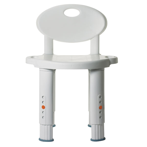 Drive Michael Graves Bath and Shower Stool Seat- With Backrest