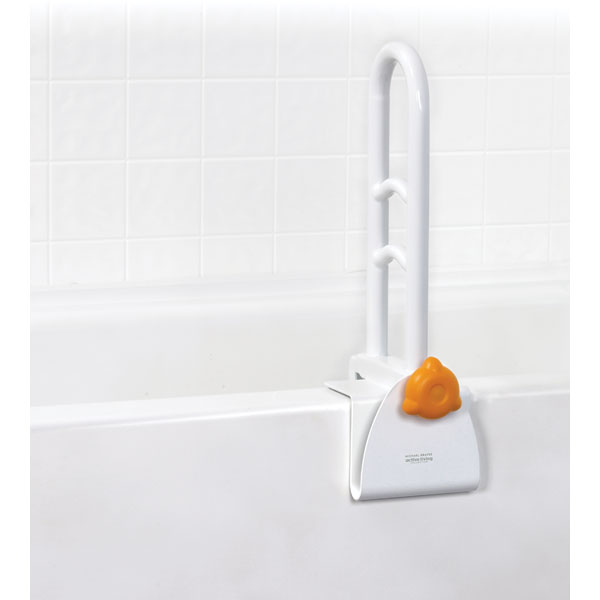 Drive Michael Graves Clamp on Tub Rail- Rail Perpendicular to Bathtub Wall