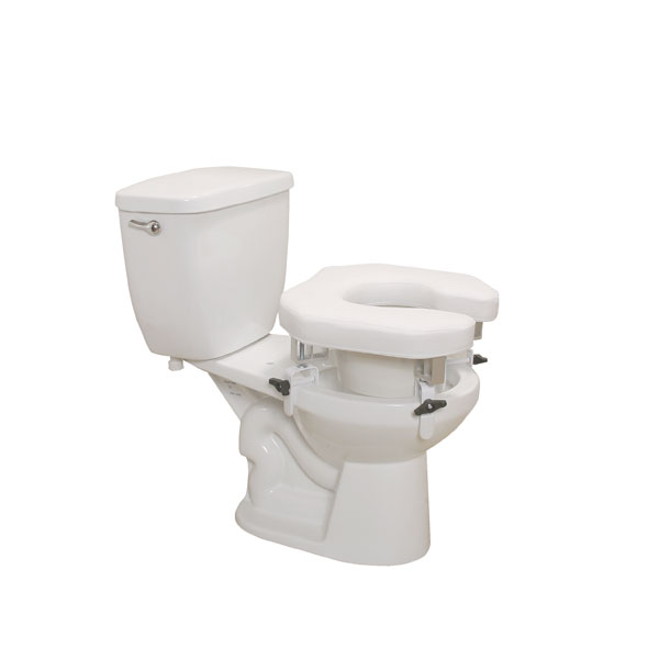 Drive Padded Raised Toilet Seat Riser
