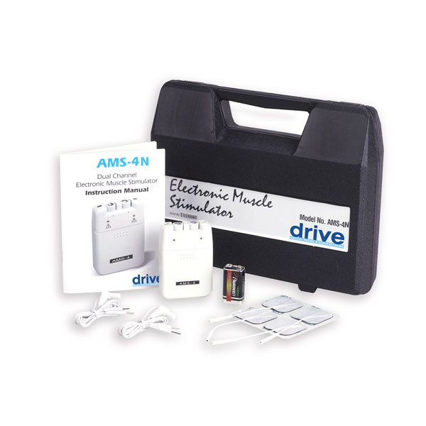 Drive Portable EMS with Timer and Carrying Case
