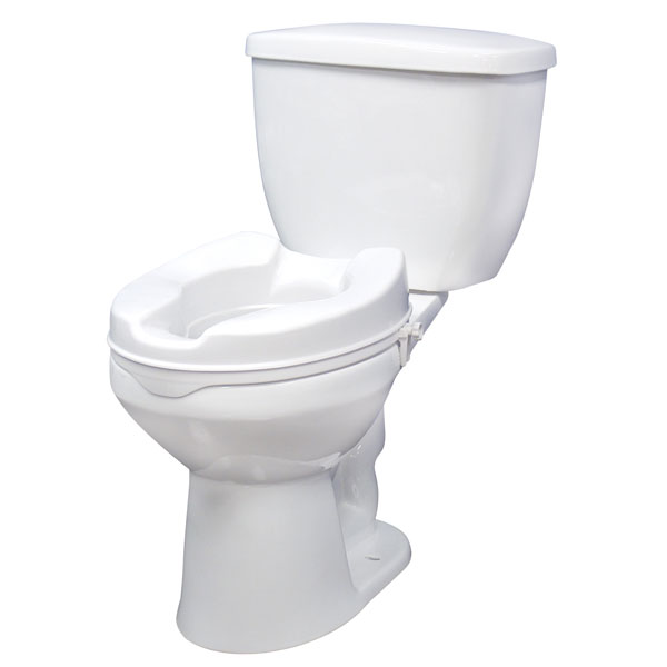 Drive Raised Toilet Seat with Lock