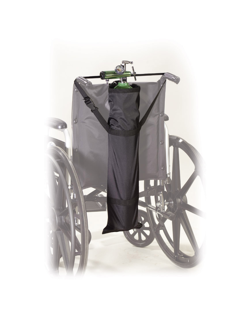 Drive Wheelchair Carry Pouch for Oxygen Cylinders