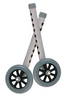 "Drive 5"" Walker Wheels with Two Sets of Rear Glides for Use with Universal Walker"