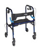 "Drive Clever Lite Rollator Walker with 5"" Casters"