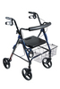 "Drive DLite Rollator Walker with 8"" Wheels and Loop Brakes"