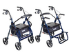 Drive Duet Transport Wheelchair Rollator Walker