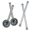 "Drive Extended Height 5"" Walker Wheels and Legs Combo Pack"