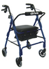 Drive Four Wheel Rollator With Padded Seat