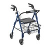 Drive Four Wheel Rollator With Plastic Seat