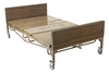 Drive Full Electric Bariatric Hospital Bed- Includes Mattress and 1 Set of T Rails