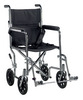 Drive Go Cart Light Weight Transport Wheelchair with Swing away Footrest