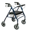 Drive Heavy Duty Bariatric Rollator Walker with Large Padded Seat