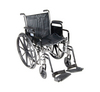 Drive Silver Sport 2 Wheelchair with Various Arms Styles and Front Rigging Options