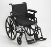 Drive Viper Plus GT Wheelchair with Flip Back Adjustable Arms with Various Front Rigging