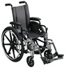 Drive Viper Wheelchair with Various Flip Back Desk Arm Styles and Front Rigging Options
