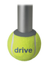 Drive Walker Rear Tennis Ball Glides- Tennis Ball Can
