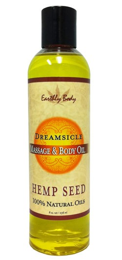 Earthly Body 3-in-1 Suntouched Candle Rounds - Dreamsicle (Tangerine Plum) - 6.8 oz.