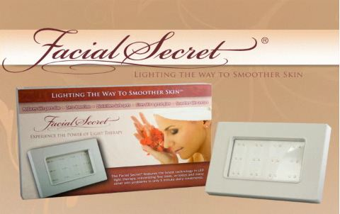 The Facial Secret LED Light Therapy Device (wrinkles/anti-aging/acne)