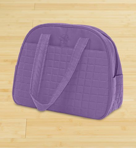 Gaiam Yoga Metro Gym Bag Purple