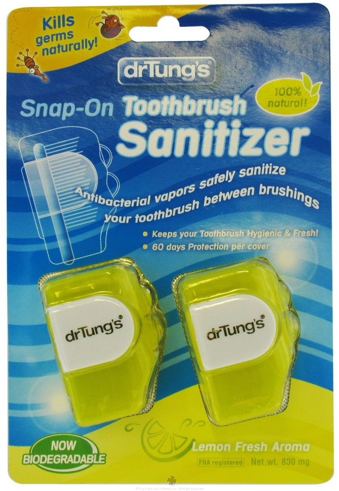 Impressive Smile Dr. Tung SnapOn Toothbrush Sanitizer 20 Individual Sanitizers
