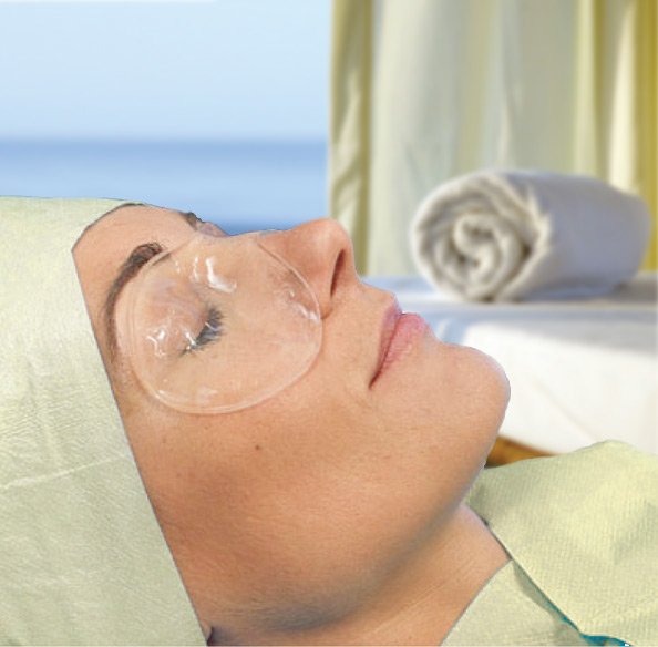 Swiss Therapy Eye Mask Compress-New Improved Version (for Tired, Puffy Eyes, Wrinkles, Post-Surgery) - 3 Masks/Per Box