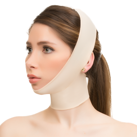 Facial Surgery Compression Garment w/Full Neck Support