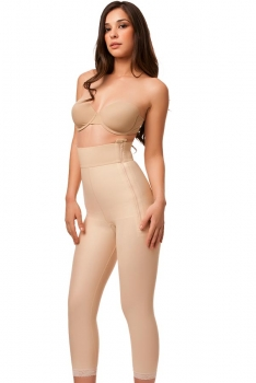 High Waist Abdominal Below Knee Compression Girdle- Stage 1