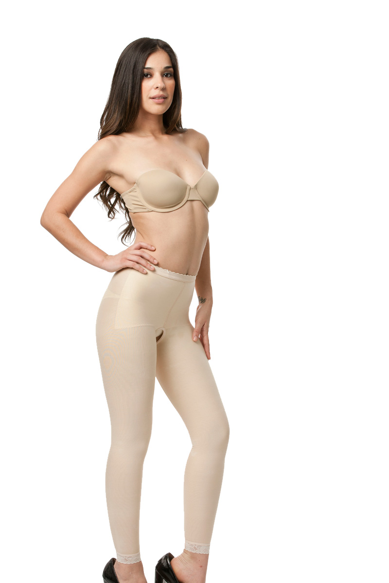 Low Waist Abdominal Ankle Length Compression Girdle- Stage 1