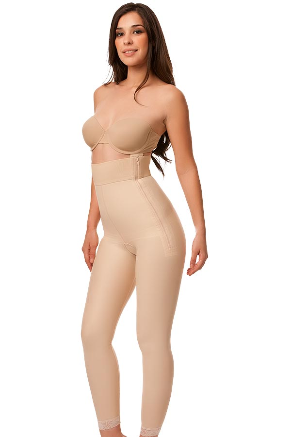 High Waist Abdominal Ankle Length Compression Girdle- Stage 1