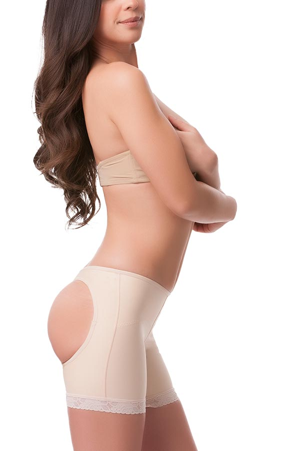 Low Waist Buttocks Enhancing Compression Garment (Panty Length)