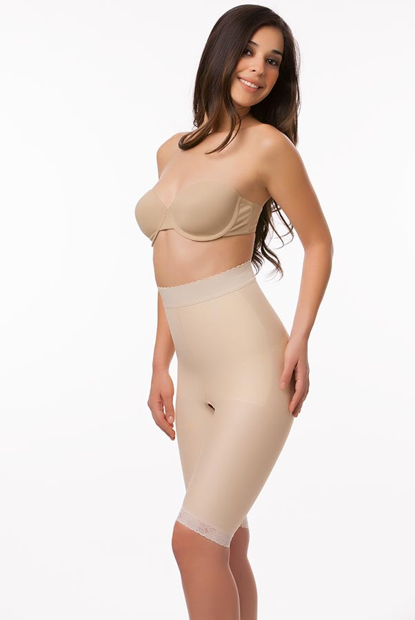 High Waist Abdominal Above Knee Compression Girdle- Stage 2