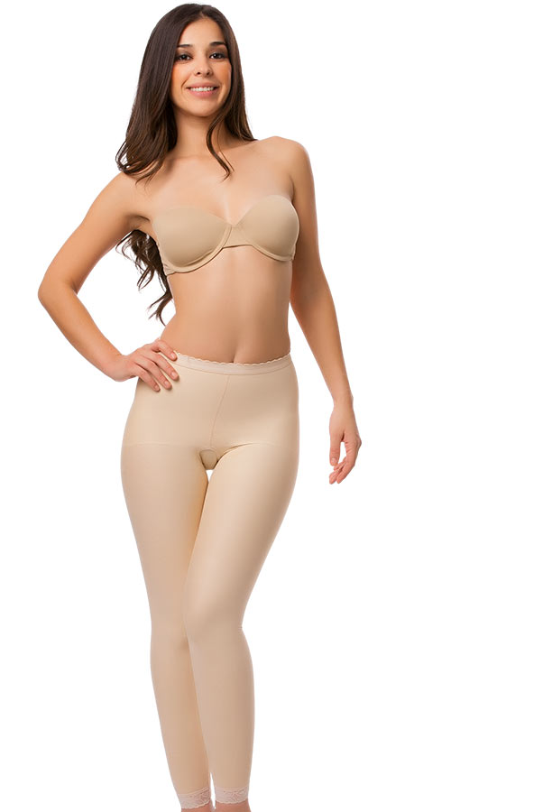 High Waist Abdominal Ankle Length Compression Girdle- Stage 2