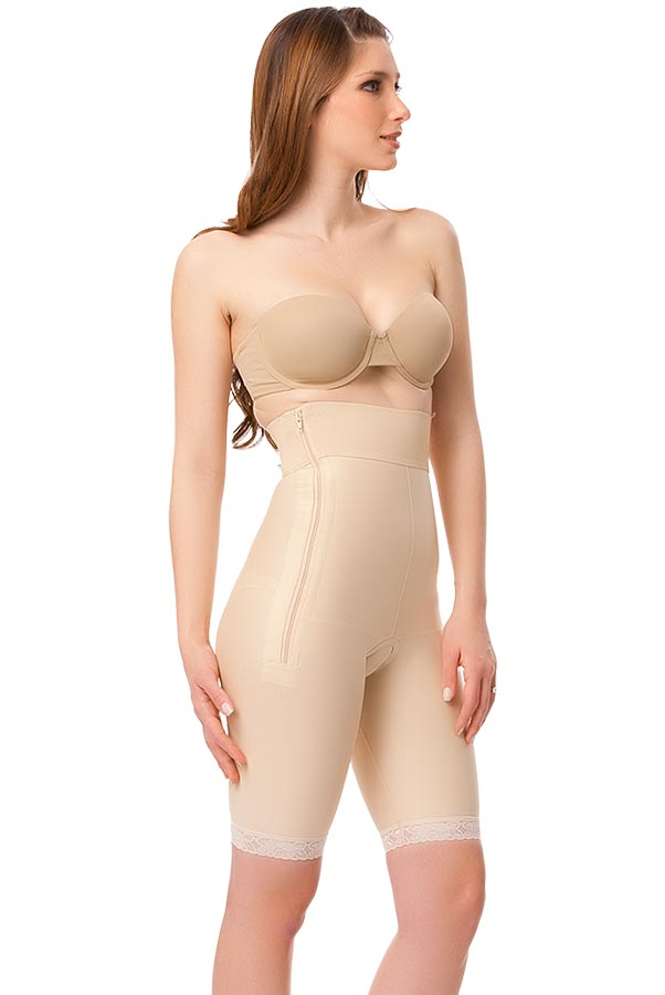 High Waist Abdominal Above Knee Compression Girdle- Stage 1