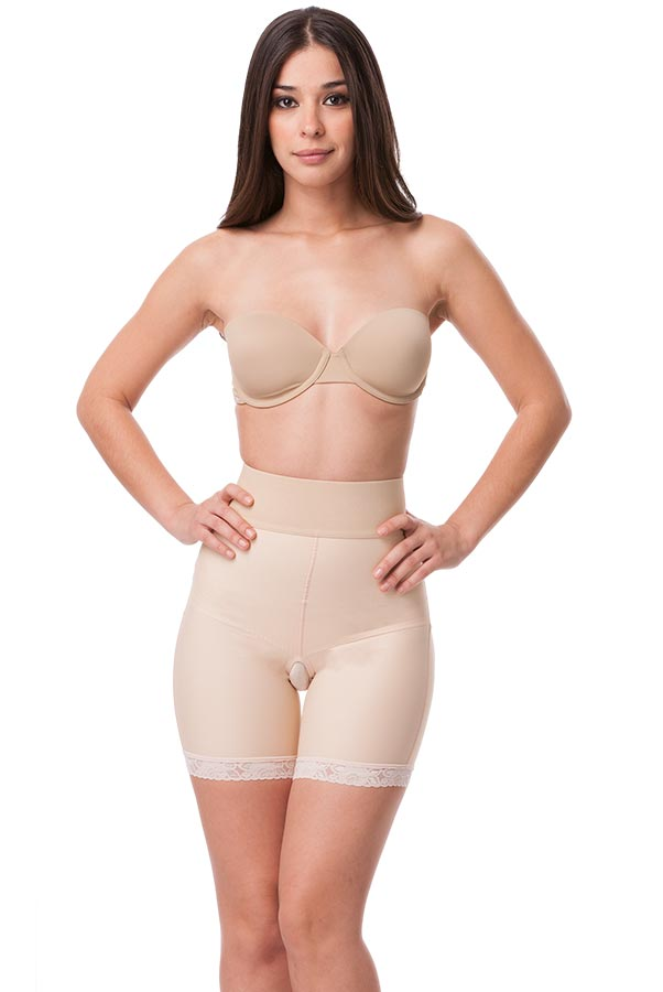 High Waist Buttocks Enhancing Compression Girdle (Without Zipper)
