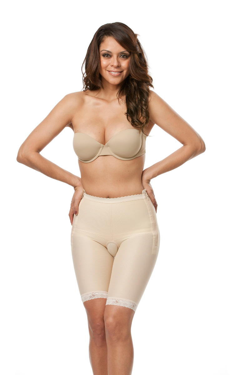 Low Waist Abdominal Above Knee Compression Girdle- Stage 1