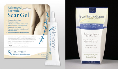 Super Scar Reduction Cream Combo (Scar Esthetique 60ml & Kelo-cote 10g)