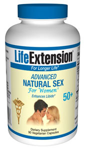 Advanced Natural Sex for Women (50+) 90 Tablets