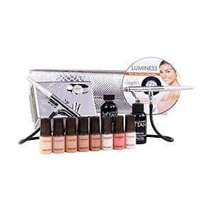 Luminess Air Platinum Multi-Speed Airbrush Makeup System W/ Tanning Upgrade - Fair